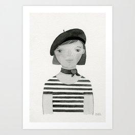 Linette Art Print