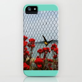 JUST PASSING BY iPhone Case