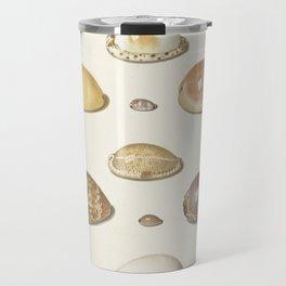 Vintage Seashell Chart I Travel Mug