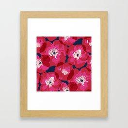 Big Poppies Framed Art Print