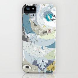 Hug me please iPhone Case