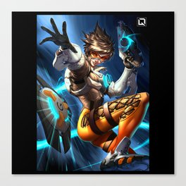 tracer over Canvas Print