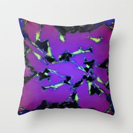 An interrupted glow 2 Throw Pillow
