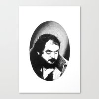 kubrick Canvas Prints featuring Stanley Kubrick by Daniel Point