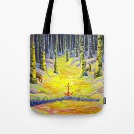 Winter Sorcery Tote Bag