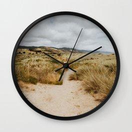 Path at Point Reyes Wall Clock