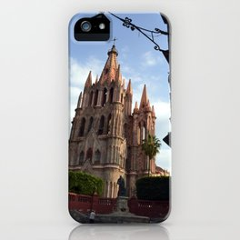 church san Miguel de allende iPhone Case