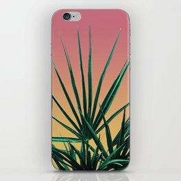 Vaporwave Palm Life - Miami Sunset iPhone Skin