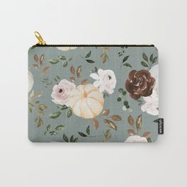 Autumn is calling - pumpkins are falling Carry-All Pouch