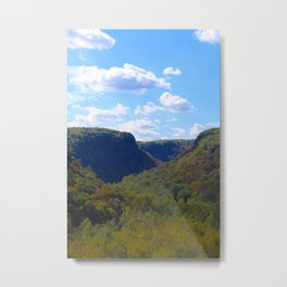 A Perfect Day in Letchworth-Portrait Metal Print