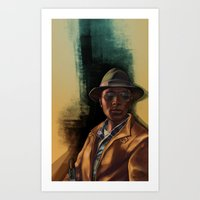 grand theft auto Art Prints featuring Grand Theft Auto Online Characters - The Lazy of The Damned by W.Flemming