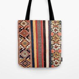Salé  Antique Morocco North African Flatweave Rug Print Tote Bag