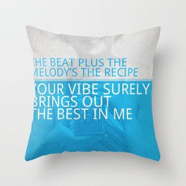 Nujabes feat. Shing02 - Luv (sic) pt. 2 Throw Pillow