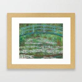 Claude Monet, The Japanese Footbridge, 1899 Framed Art Print