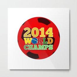 2014 World Champs Ball - Japan Metal Print