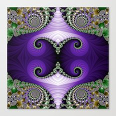 The Empress Headdress Canvas Print