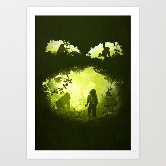 In the Heart of the Jungle Art Print