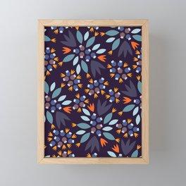 Blueberry Framed Mini Art Print