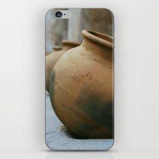 Tumacacori Pots fine art photography iPhone & iPod Skin