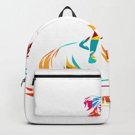 Springreiten Backpack