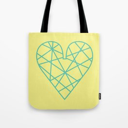 Wire Heart Tote Bag
