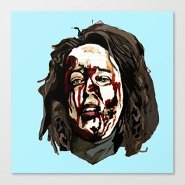 Bloody Annie Wilkes - Misery (Blue) Canvas Print