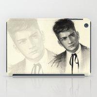 zayn iPad Cases featuring Zayn by Creadoorm