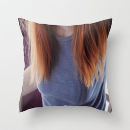 Caitlin no.4 Throw Pillow
