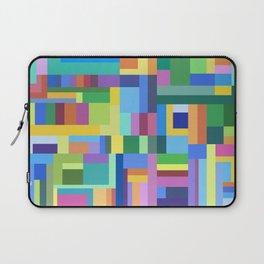 Color Burst Geometry Laptop Sleeve