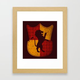 Gryffindor House Framed Art Print
