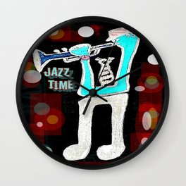 Jazz Time Wall Clock