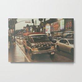 Hollywood Blvd Metal Print