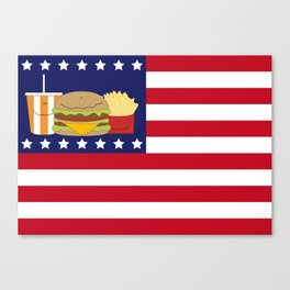 USA Canvas Print