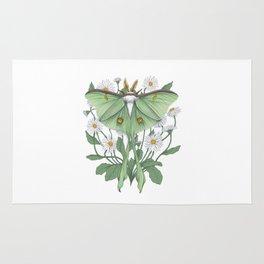 Metamorphosis - Luna Moth Rug