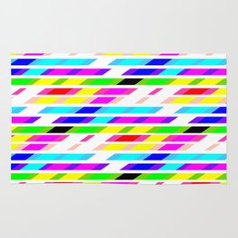 COLOURED STRIPES Rug