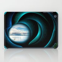 marley iPad Cases featuring Everything is quiet in the eye of the storm by Giada Rossi