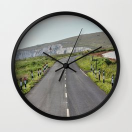 Road to the Hills Wall Clock