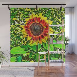 To Be A Sunflower Wall Mural
