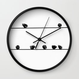 Blank Stare Wall Clock
