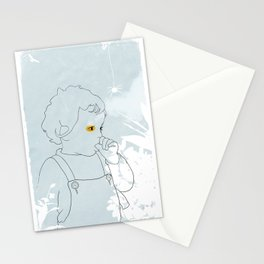 Late Afternoon (in Lady Cottington's Garden) Stationery Cards