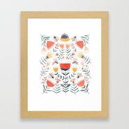 Bee Well Framed Art Print