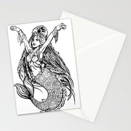 I HAVE A JELLYFISH HAT Stationery Cards