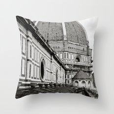 Il Duomo di Firenze Throw Pillow