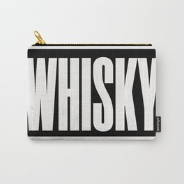 WHISKY Carry-All Pouch