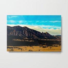 Boulder Metal Print