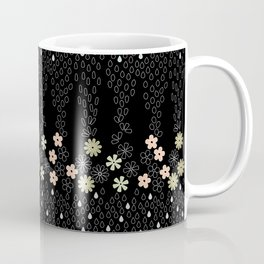 April Showers Kimono-Black Coffee Mug