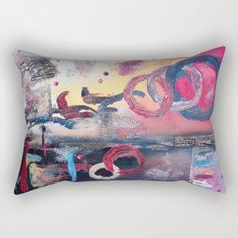 Art.For the people by Ildiko Csegoldi Rectangular Pillow