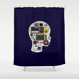 music memento Shower Curtain