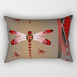 Dragonfly Rectangular Pillow