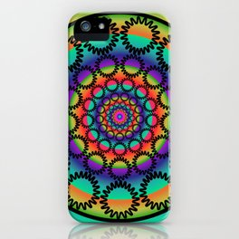 Keef Mandala iPhone Case